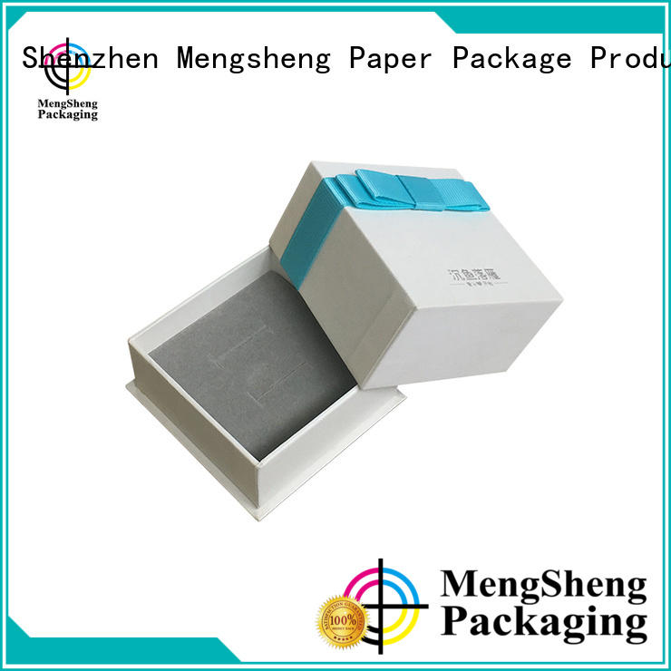Mengsheng ecofriendly card box with lid luxury chocolate packing