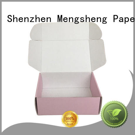 Mengsheng pvc window apparel gift boxes at discount with handle