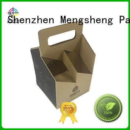 strong corrugated bin boxes printed cardboard convenient Mengsheng