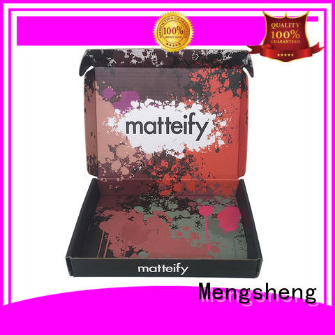 Mengsheng bottle packaging plain cardboard gift boxes at discount ectronics packing