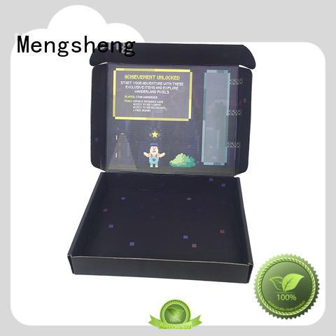 printing design custom boxes at discount Mengsheng
