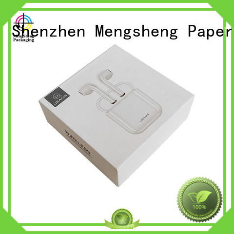 Mengsheng sturdy 2 piece gift boxes luxury for wholesale
