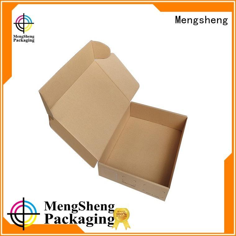 Mengsheng multifunctional big cardboard boxes shipping clothing garment packing