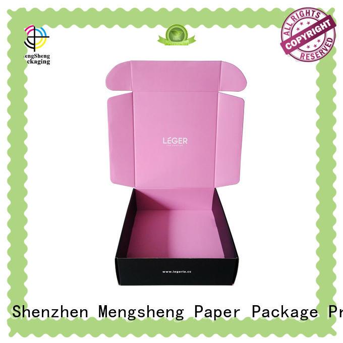 cardboard box printing design ectronics packing Mengsheng