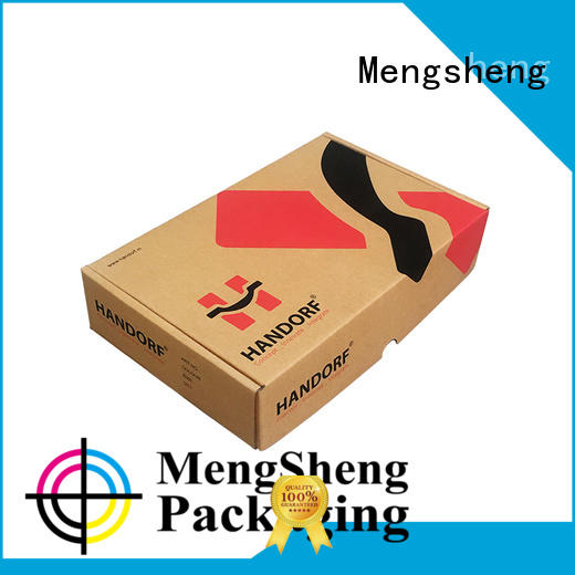 natural kraft paper large shipping boxes strong printed cardboard eco friendly
