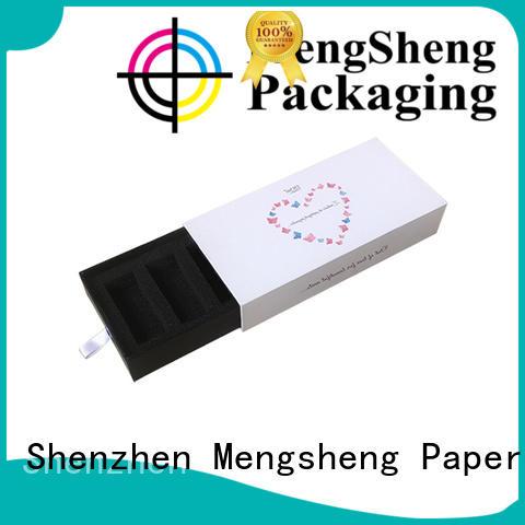 Mengsheng custom color slidingboxes gift packaging at discount