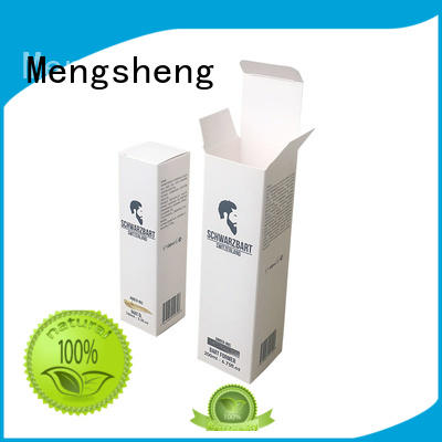Mengsheng bottle packaging packing boxes pink colour with ribbon