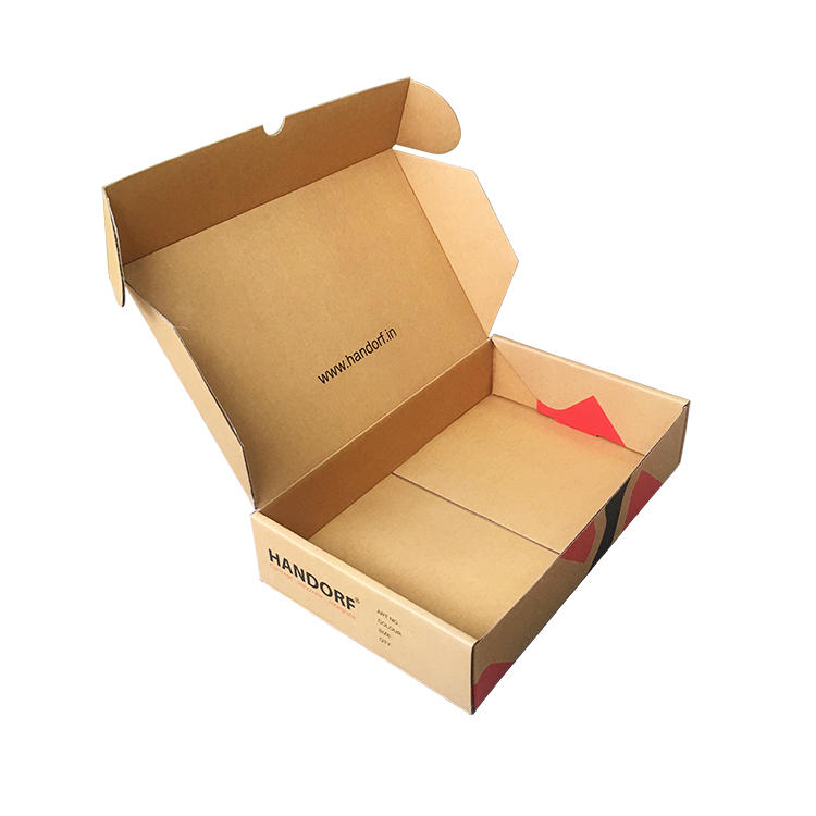 Mengsheng shipping corrugated supplies shoes packing custom design-3