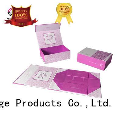 Mengsheng folding easy fold boxes logo printed swimwear packing