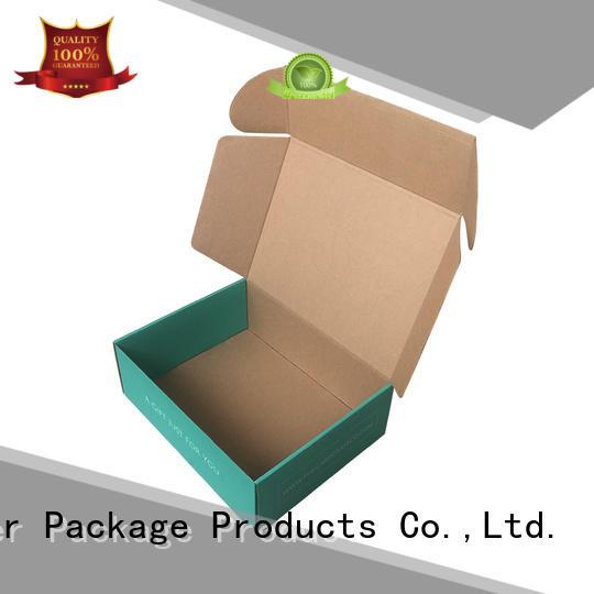 Mengsheng wine bottles corrugated bin boxes shoes packing custom design