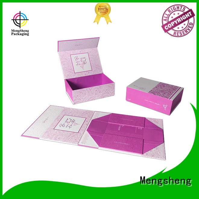 Mengsheng imprinted gift card box sturdy at discount