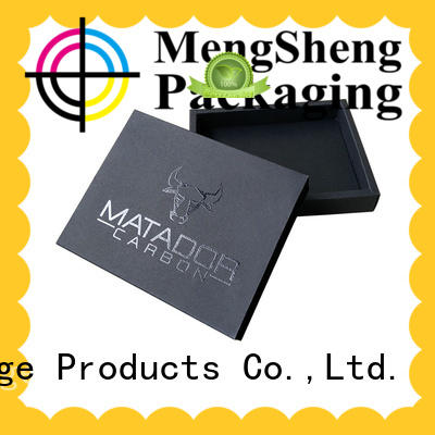 custom boxes printing design with ribbon Mengsheng