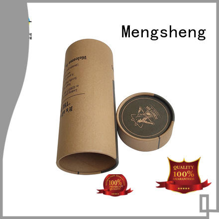 Mengsheng stamping branded packaging boxes clothing packing eco friendly