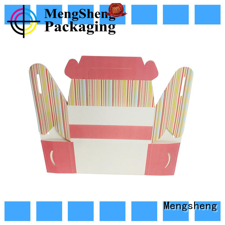 Mengsheng shopping premium gift boxes with lids manufacturers with handle