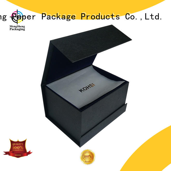 Mengsheng at discount magnetic hide box corrugated for christmas gift