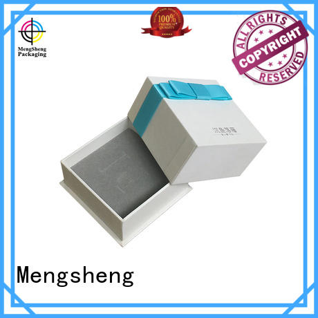 Mengsheng headphones packaging card box with lid special jewelry packing