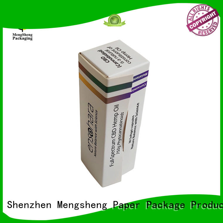 Mengsheng packaging perfume box design cheapest price for sale