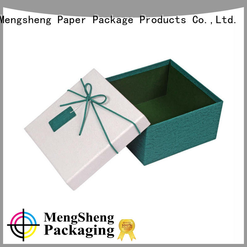 Mengsheng ecofriendly 2 piece gift boxes luxury chocolate packing