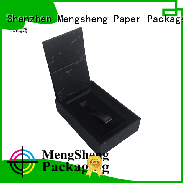 Mengsheng handmade 2 piece box special jewelry packing