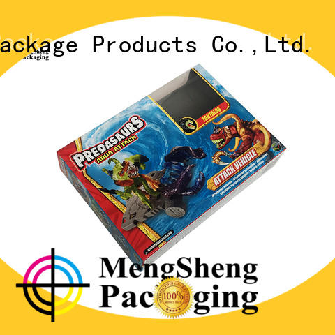 various shapes large gift boxes wholesale printing for toy storage Mengsheng