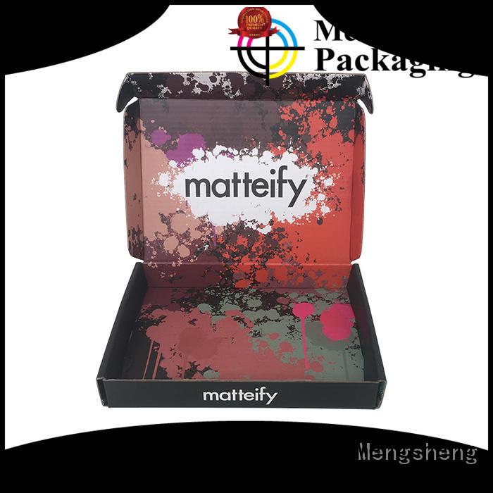 Mengsheng logo perfume box design at discount for sale