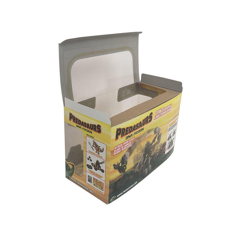 Mengsheng convenient small cardboard gift boxes pvc inserted for christmas gift