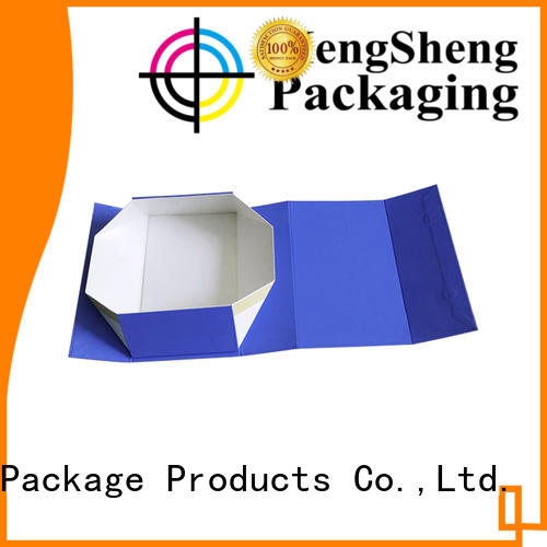 Mengsheng durable easy fold boxes easy closure swimwear packing