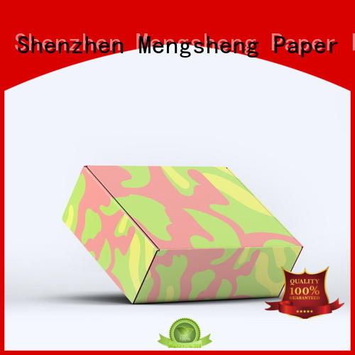 Mengsheng printing long corrugated boxes stamping convenient