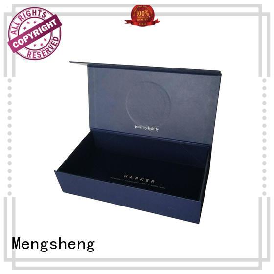 Mengsheng hot-sale foldable box shipping clothing swimwear packing