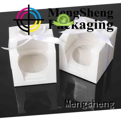 magnetic closure cupcake packaging kraft reversible top brand