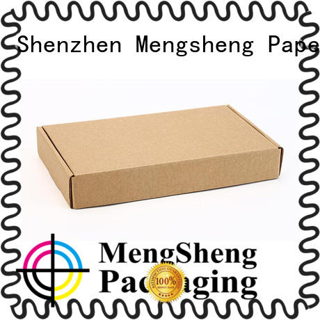 Mengsheng wine bottles mailing box eco friendly