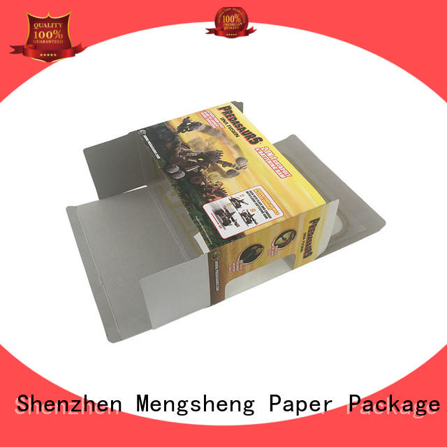 Mengsheng cheapest price kids toy box on-sale with ribbon