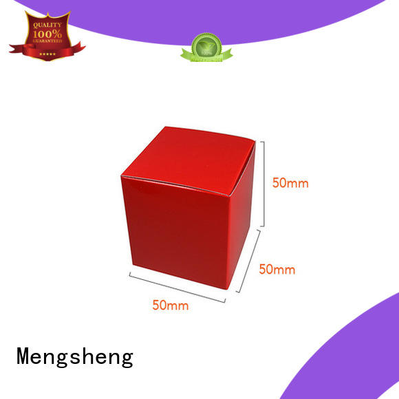 Mengsheng high-quality scarf gift box sturdy top brand