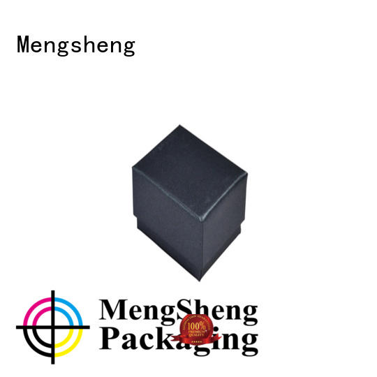 Mengsheng shipping cheap jewelry boxes shoes packing eco friendly