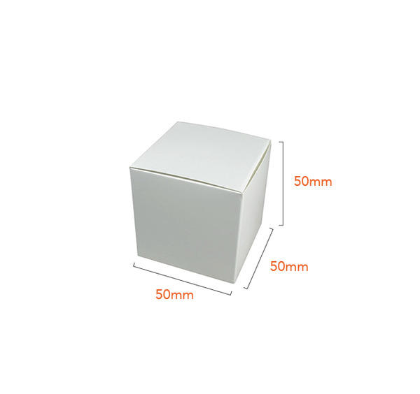 One Piece Cube Box 50mm Gift Boxes for Presentation- Various colors