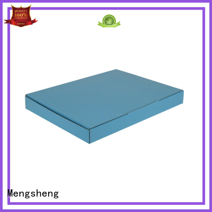 Mengsheng stamping large shipping boxes double sides eco friendly