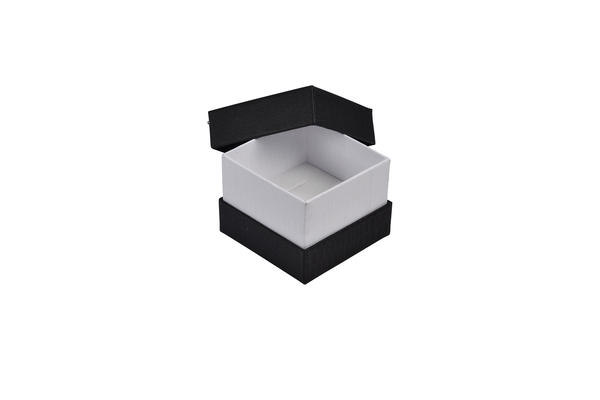 Rigid Two Tone Texture Small Jewellery Necklace Gift Box