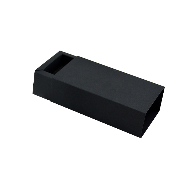 Drawer box Slide Over Cover Small Base & Lid- Kraft Brown, black, white and customized colors