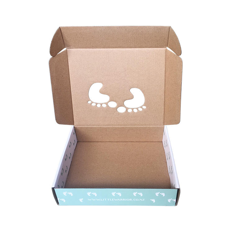 Corrugated packaging box- custom printed tuck top mailer boxes for blanket, clothing, toy etc packaging shipping