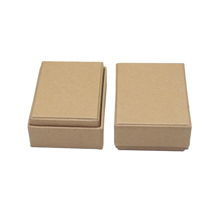 2 piece gift box - kraft color eco-friendly cardboard sturdy