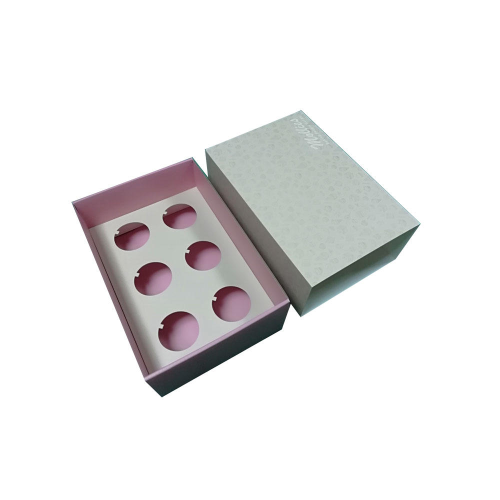 Professional factory custom printed drawer style sleeve heave duty corrugated cupcake gift box
