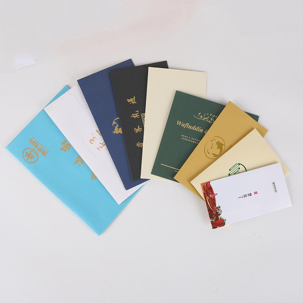 Professional factory supply all kinds of color white brown kraft paper envelope