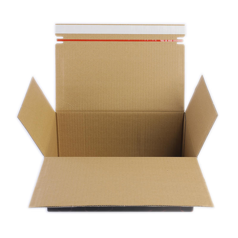 Professional factory shenzhen supply eco kraft corrugated cardboard adhesive mailing box