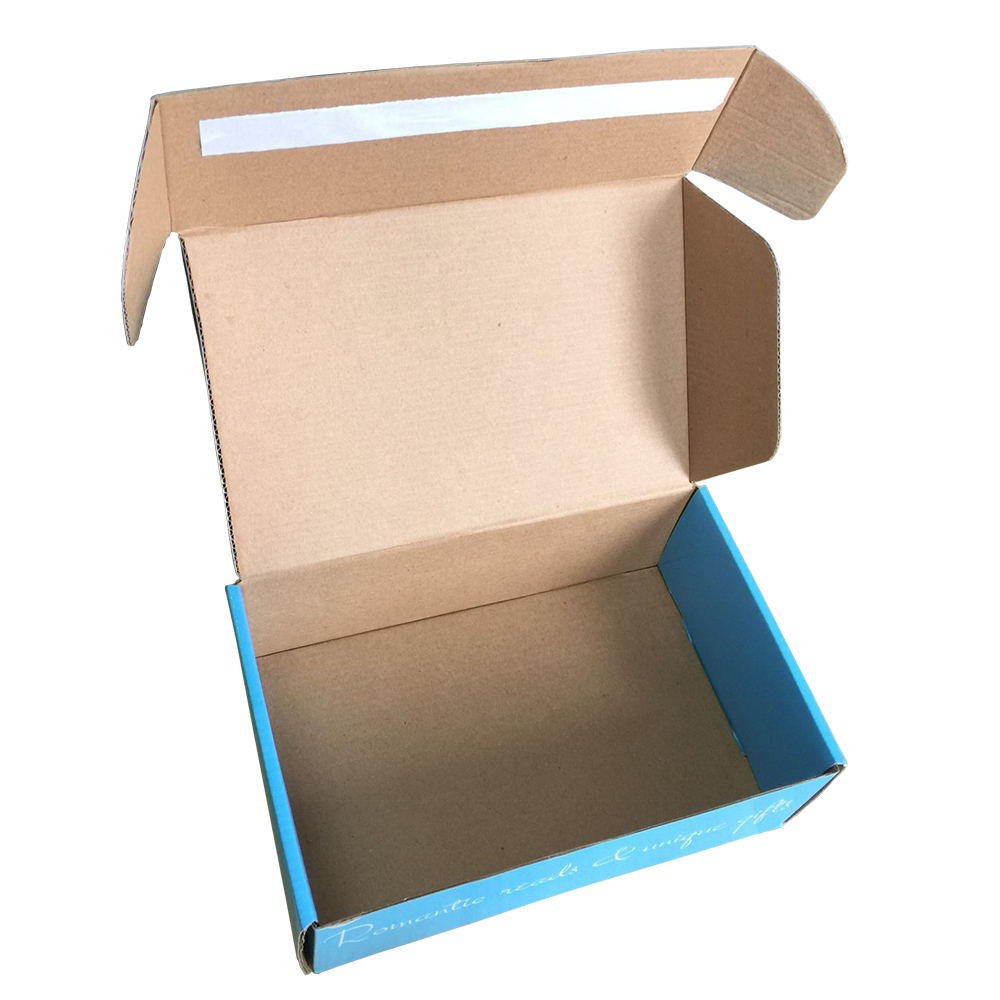 Professional Factory Kraft Corrugated Cardboard Adhesive Custom Shipping Boxes