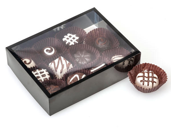 Custom Product Boxes Chocolate Box Base & Clear Lid