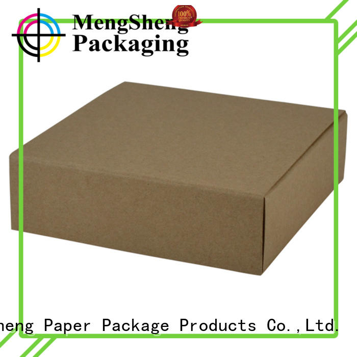 Mengsheng flocking bulk jewelry boxes shoes packing convenient