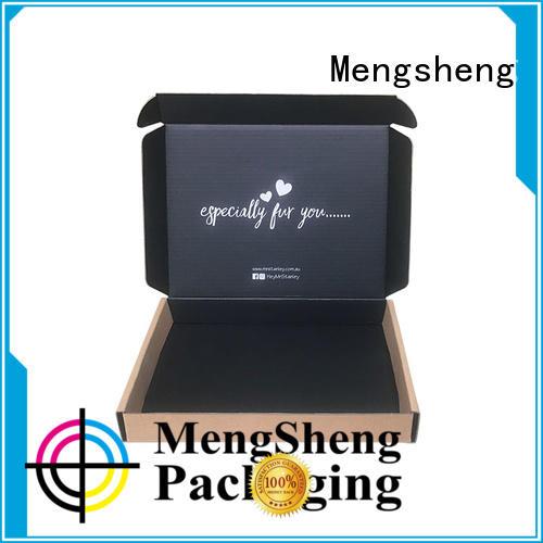 Mengsheng printing bikini box corrugated cardboard