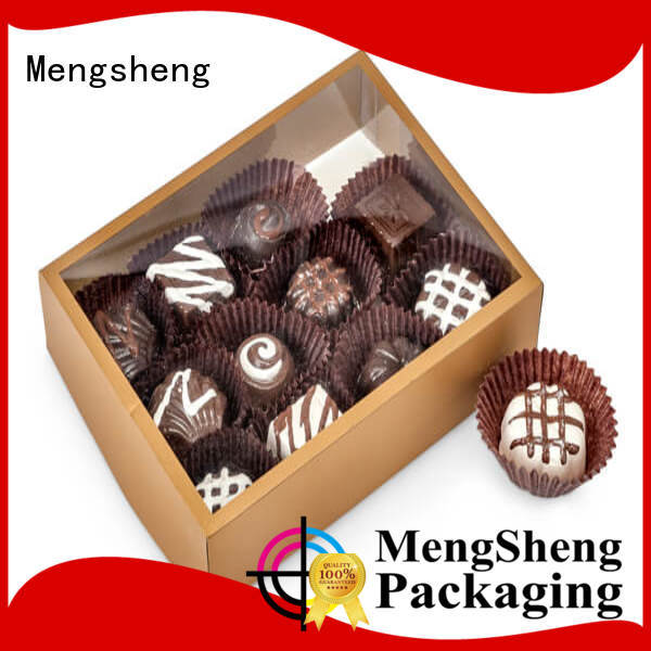 Mengsheng sturdy 2 piece gift boxes ribbon design jewelry packing