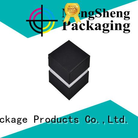 Mengsheng high quality bracelet box clothing packing convenient