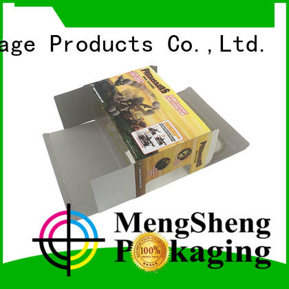 Mengsheng wholesale pet toy box on-sale with handles